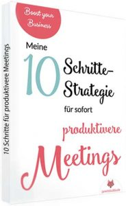 "E-Book ""Produktive Meetings"""