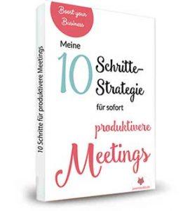 10 Schritte zu einer produktiven Meetingkultur