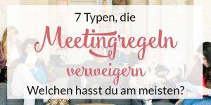 Meeting Regeln Verweigerer