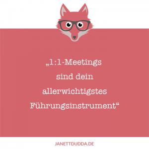 1:1 Meetings sind dein wichtigstes Führungsinstrument