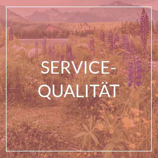 Servicequalität & Kundenorientierung