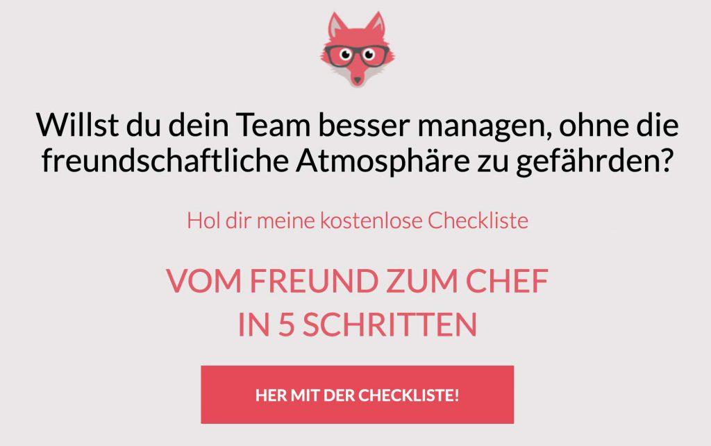 Willst du dein Team besser managen, ohne die freundschaftliche Atmosphäre zu gefährden? Hol dir meine kostenlose Checkliste: https://www.janettdudda.de/kostenlose-checkliste/